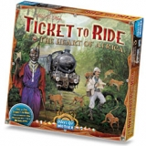 Ticket to Ride - The Heart of Africa - rozšiřující mapa