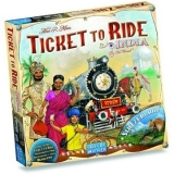 Ticket to Ride - INDIA + Switzerland - rozšiřující mapa