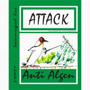Attack Anti Algue Green 1L