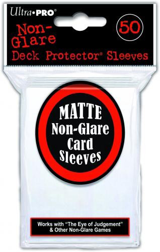 UltraPRO: 50 Clear Non-glare Deck Protector Pack