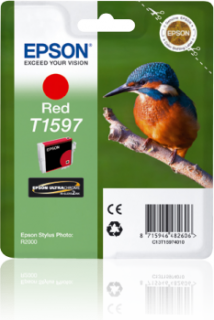 Epson C13T15974010 ink bar Stylus Photo R2000 - Red (originální)