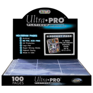 UltraPRO: 9-Poket Page Hologram - 11 hole